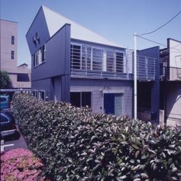 建築家 正本義人の住宅事例「S邸 (アイビースクリーンウォール)(専用住宅)」