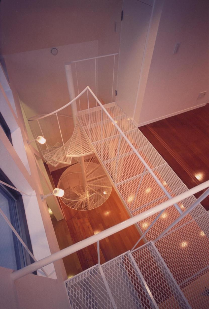 S邸 (専用住宅)の写真 階段