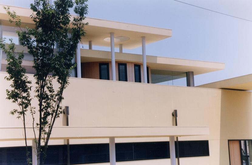 N眼科医院・N邸  (眼科医院・オーナー宅)の写真 外観