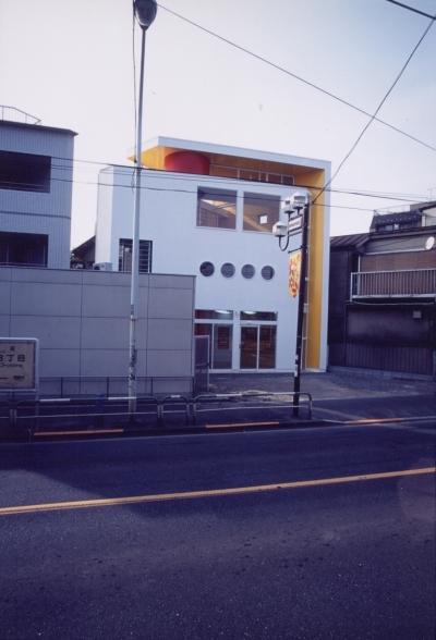 外観 (M邸 (店舗併用住宅-ドラッグストアー))