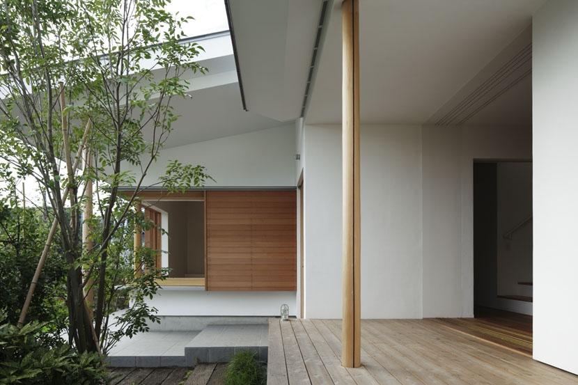 「夕日の家」の部屋 テラス
