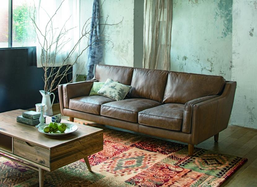 メーカー:HOUSE STYLING(ディノス)「リビングルーム - NATURAL/VINTAGE/OLD&NEW -」