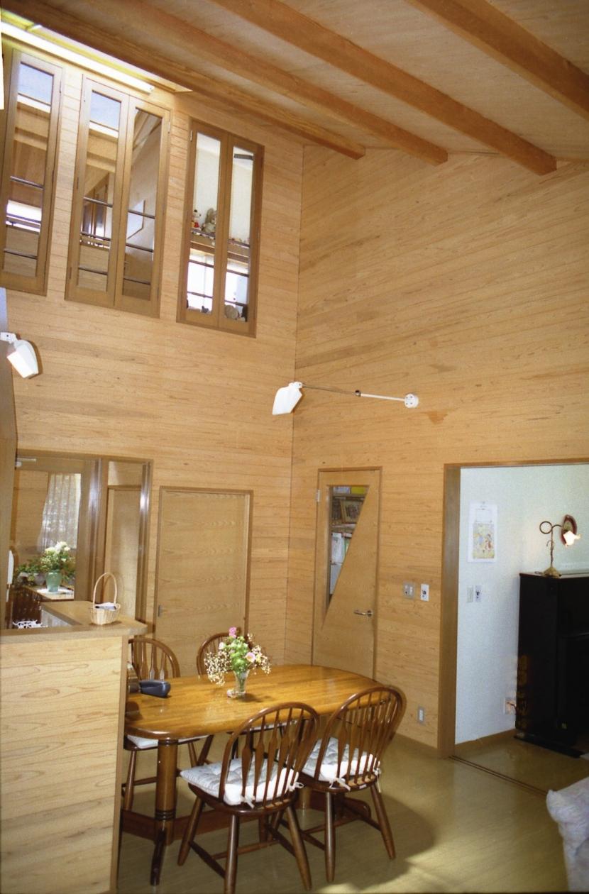 郊外型戸建住宅-Sの部屋 居間