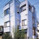 既成市街地の鉄骨3階住宅-K