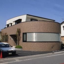 二世帯住宅+家業のオフィス付き-Ma (外観)