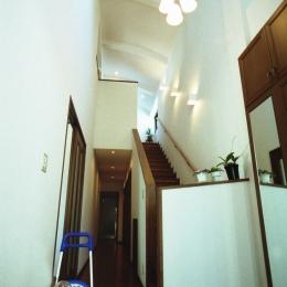 二世帯住宅+家業のオフィス付き-Ma