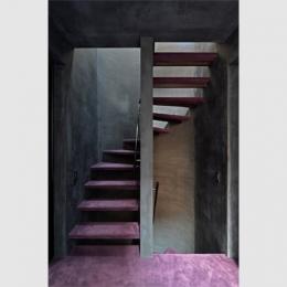 品川の家 (階段室)