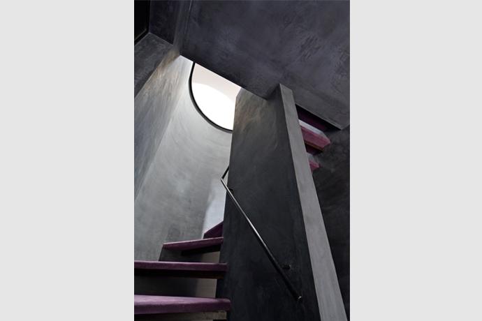 品川の家の部屋 階段室