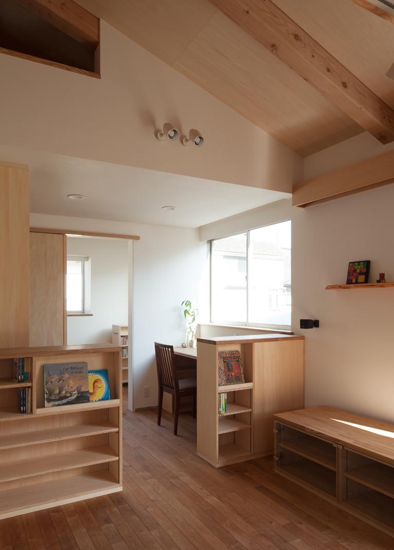 下井草nhの写真 図書スペース2