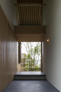加古川の住宅 (玄関土間)