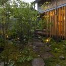 加古川の住宅の写真 北庭