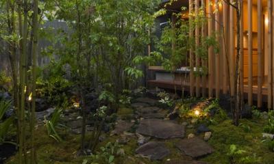 加古川の住宅 (北庭)