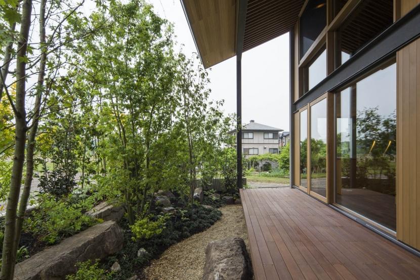 加古川の住宅の部屋 テラス