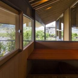 加古川の住宅-書斎