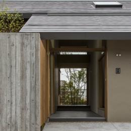 加古川の住宅-玄関