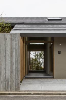 加古川の住宅 (玄関)