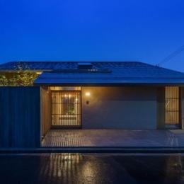 加古川の住宅 (夕景)