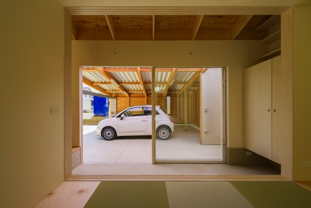 引土の家の部屋 和室