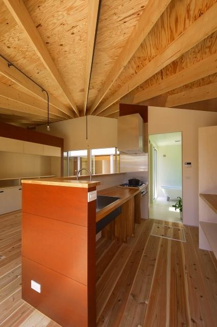 引土の家の部屋 キッチン