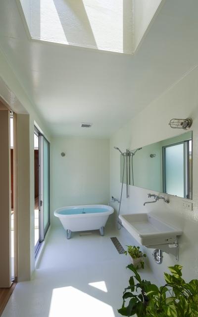 引土の家の部屋 浴室
