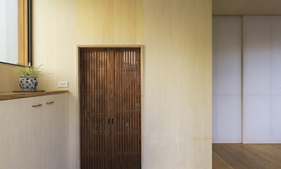 舞多聞の家 (玄関)