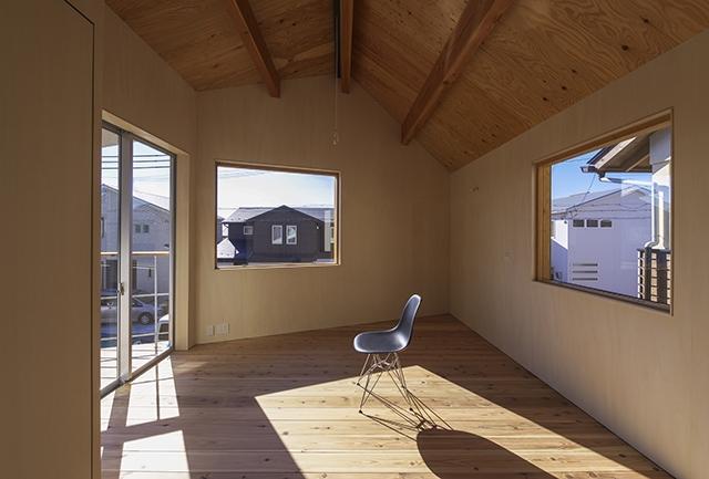 舞多聞の家の部屋 寝室1