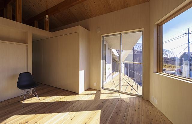 舞多聞の家の部屋 寝室2