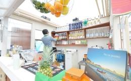 HUT/表参道のイベントバー (キッチンカウンター内部)