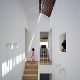夢前町の家 (階段ホール)