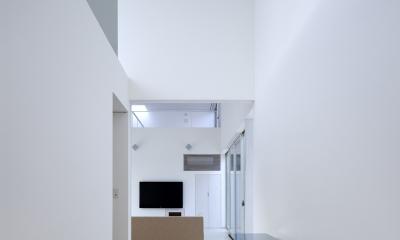 生駒の家 (玄関)