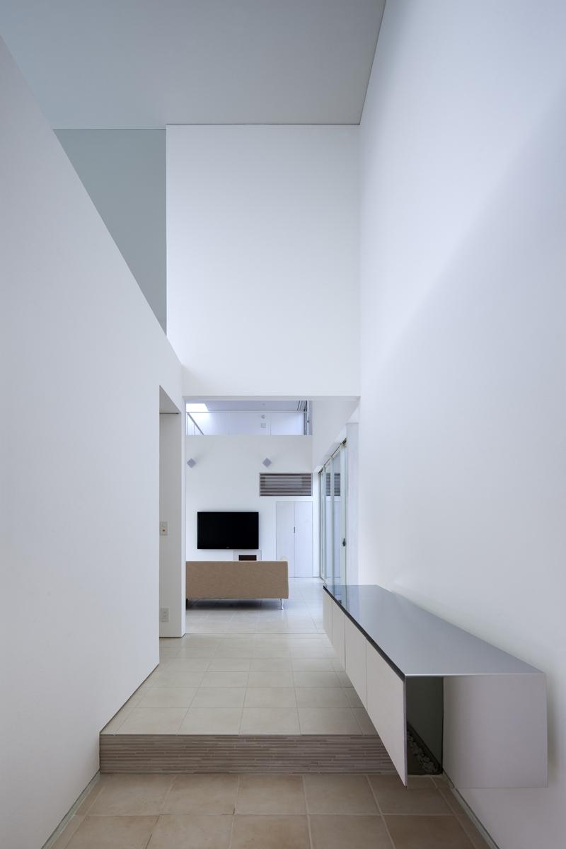 生駒の家の部屋 玄関