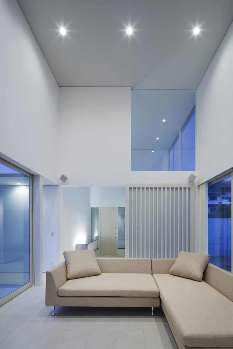 生駒の家の部屋 リビング