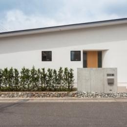 planar house (外観)
