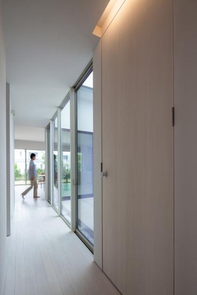planar house (玄関)