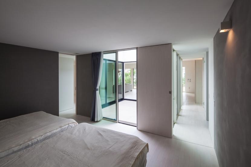 planar houseの写真 寝室