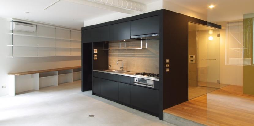 S邸@中目黒の写真 LDK1_キッチン部分