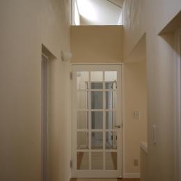 N邸 (室内廊下)