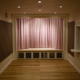 N邸 (ホームシアター(スクリーン側))