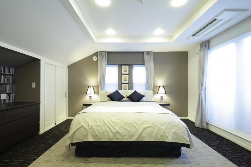 A邸の写真 寝室_1