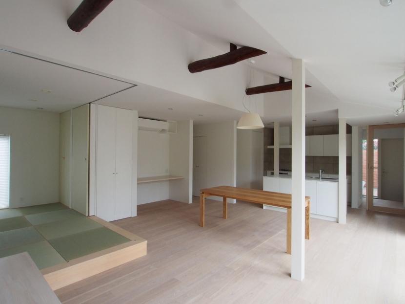 南烏山の家(リノベーション)の部屋 リビング