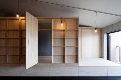 ノビルーム (勾配天井の家 -いえづくりワークショップとDIY施工の参加型リノベ-)