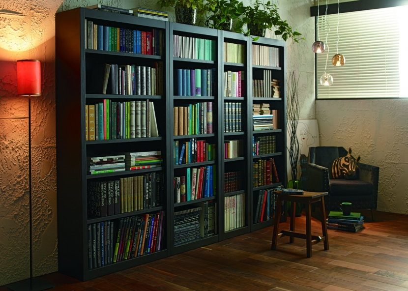 書斎の部屋 ブックシェルフ
