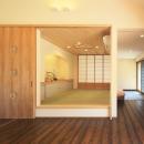 ひばり野 辰郎の住宅事例「癒しの森の中の平屋住宅」