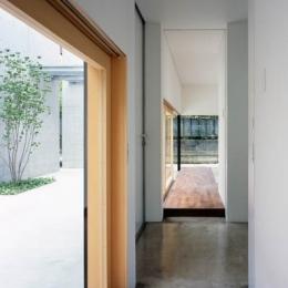 緑山の家 (廊下)