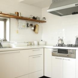 H邸・家族の笑顔にあふれる快適な住まいの写真 キッチン