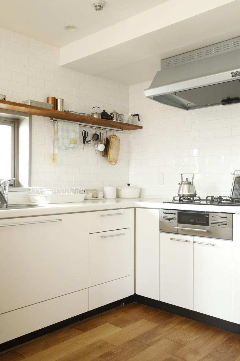 H邸・家族の笑顔にあふれる快適な住まいの部屋 キッチン
