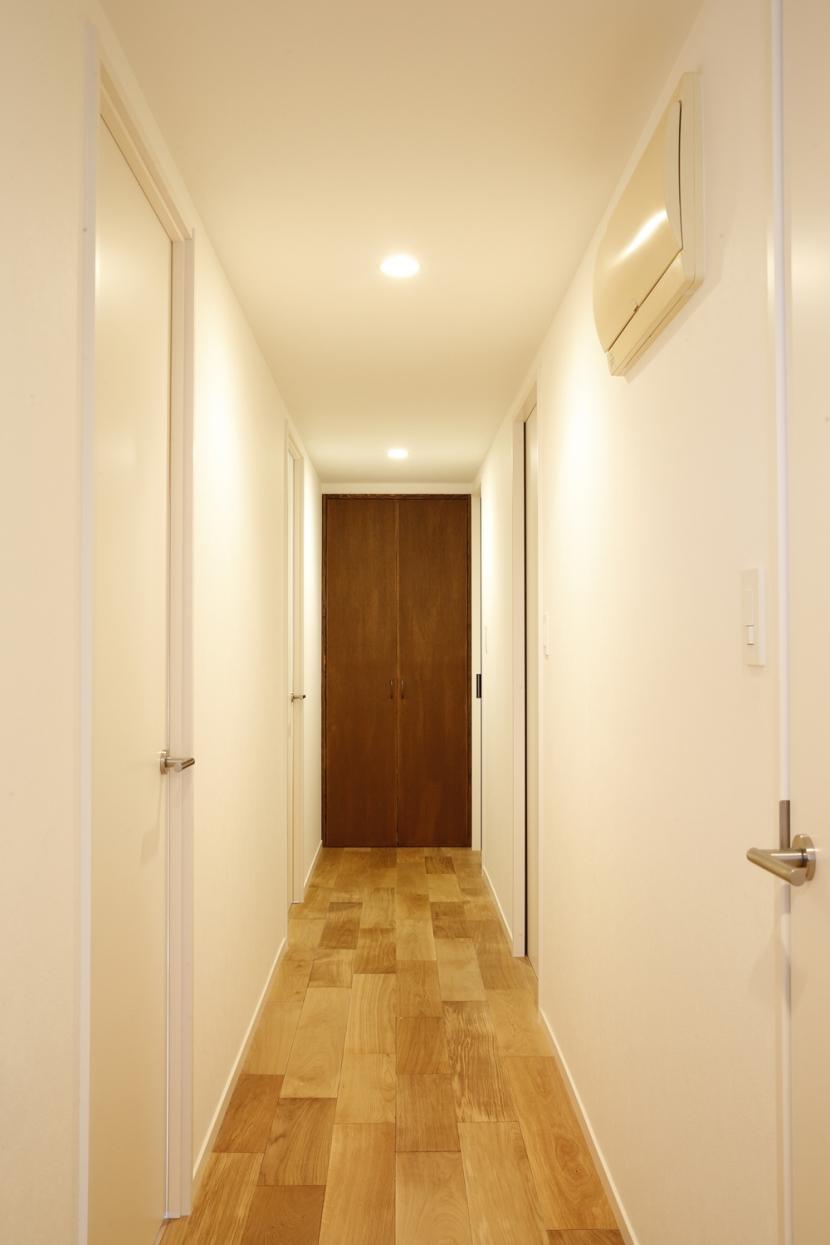 H邸・家族の笑顔にあふれる快適な住まいの部屋 廊下