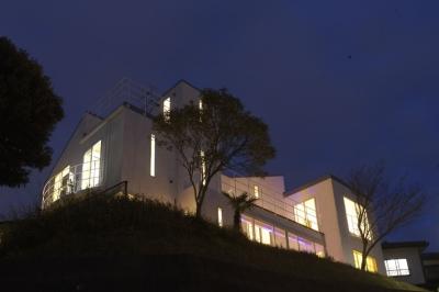 外観夜景 (VIEW-COURT-1)