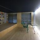 可動本棚の家