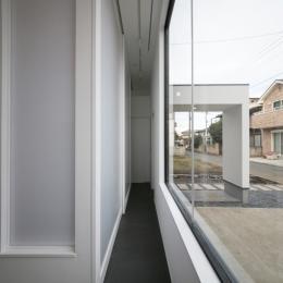 ハコノオウチ04 2.5世帯住宅 (玄関土間)